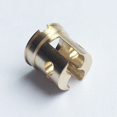 High precison machining custom made round brass part