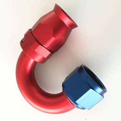 Teflon PTFE hose ends-180 degree