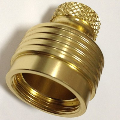 CNC precision machining brass part