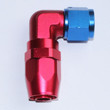 90 Degree Forged swivel hose end