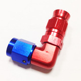 90 degree  Forged PTFE swivel hose end